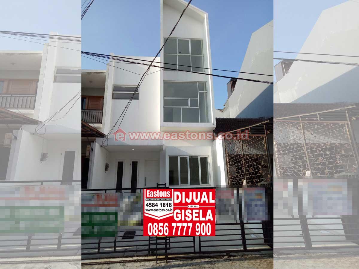 Dijual rumah dikelapa gading (kg004422)
